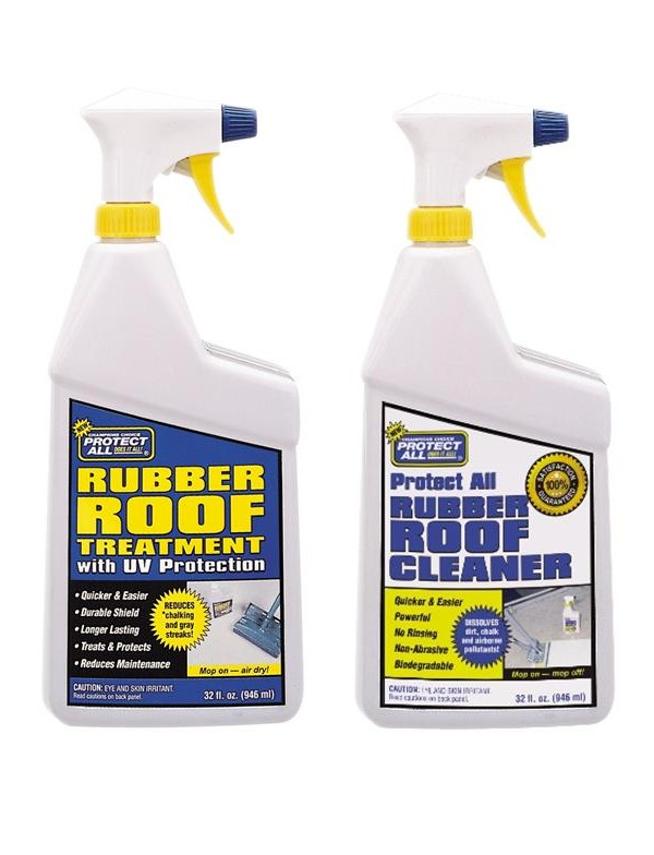 RV Rubber Roof Care