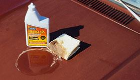 ProtectAll fiberglass oxidation remover demo